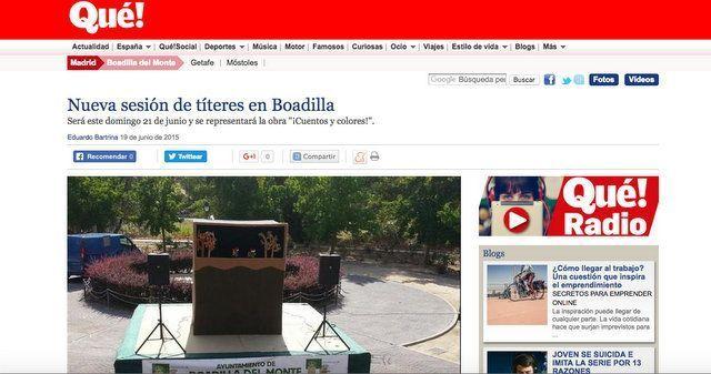 Wave On Media_Dinamización de Contenidos_Ayuntamiento de Boadilla del Monte