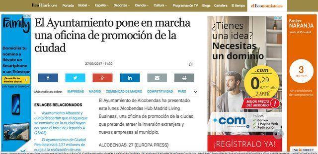 Wave On MEDIA_ECODIARIO:ELECONOMISTA.ES ALCOBENDAS HUB