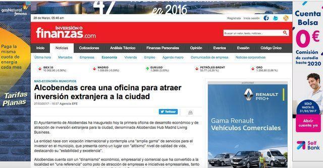 Wave On Media_INVERSION Y FINANZAS ALCOBENDAS HUB