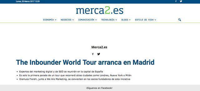 Wave On Media_Aparición en Medios_MERCA2 THE INBOUNDER WORLD TOUR