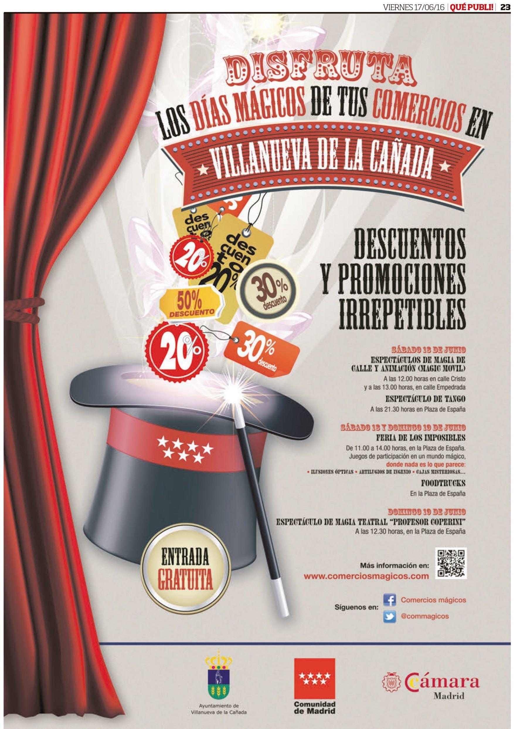 Wave On Media_publicidad_días mágicos Villanueva de la Cañada