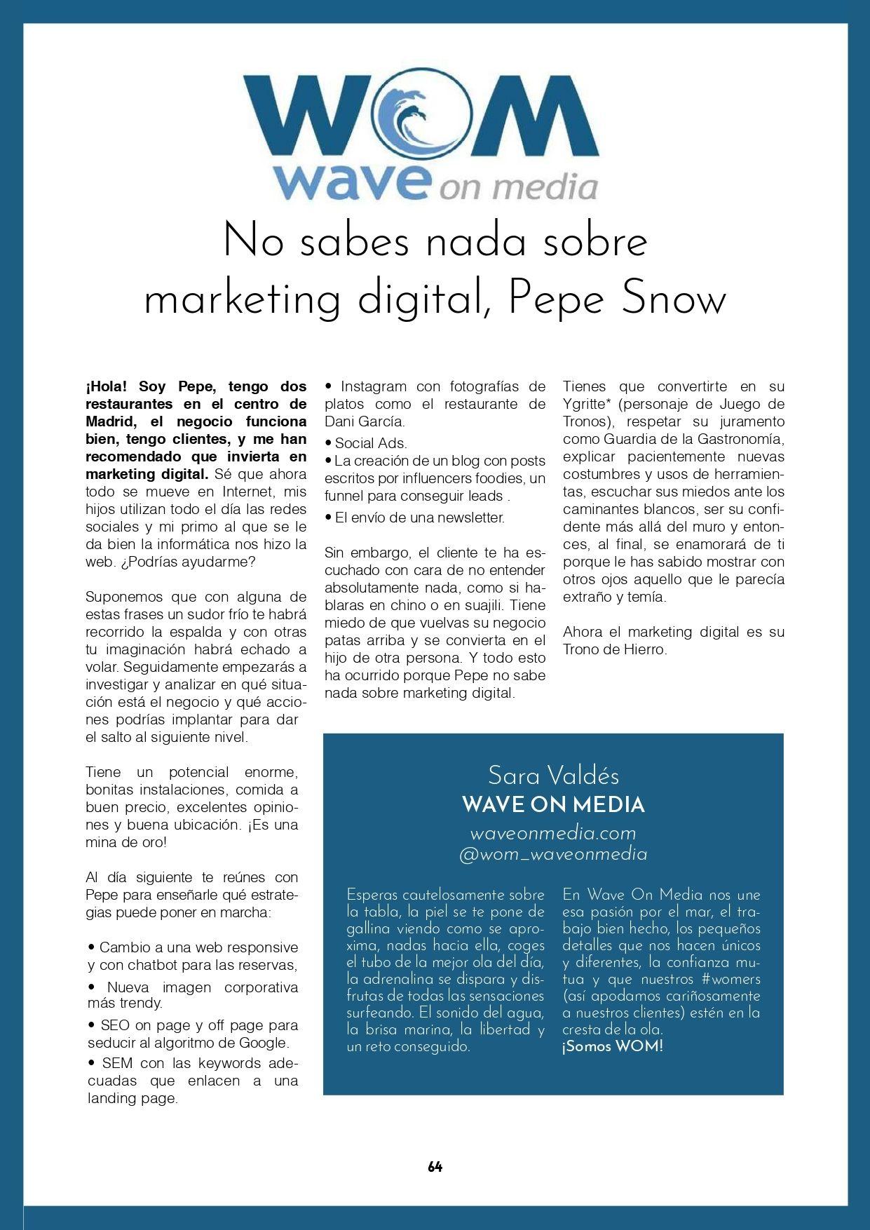 Post Libro IV Reunión Agencia Aula CM_Wave On Media